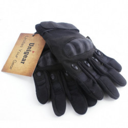 Tactical Gloves with Full Finger Touch L Black