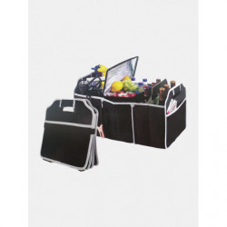 1Pc Black Large Capacity Car Storage Bags Tools Organizer Cases Container Box Folding Trunk Storage Bag Toolbox