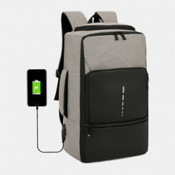Oxford USB Charging Casual Large Capacity Laptop Bag Backpack