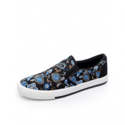Men Cloth Printing Pattern Casual Shoes