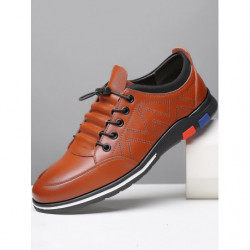Men Cow Leather Casual Business Shoes